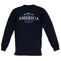 Made In America Long Sleeve Shirt
