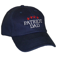 Patriot Dad Unstructured Baseball Cap
