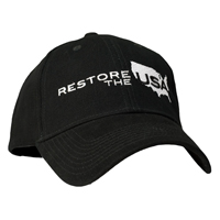 Restore The USA Structured Baseball Cap