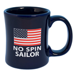 No Spin Sailor Diner Coffee Mug