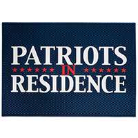 Patriots In Residence Doormat