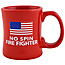No Spin Fire Fighter Diner Coffee Mug